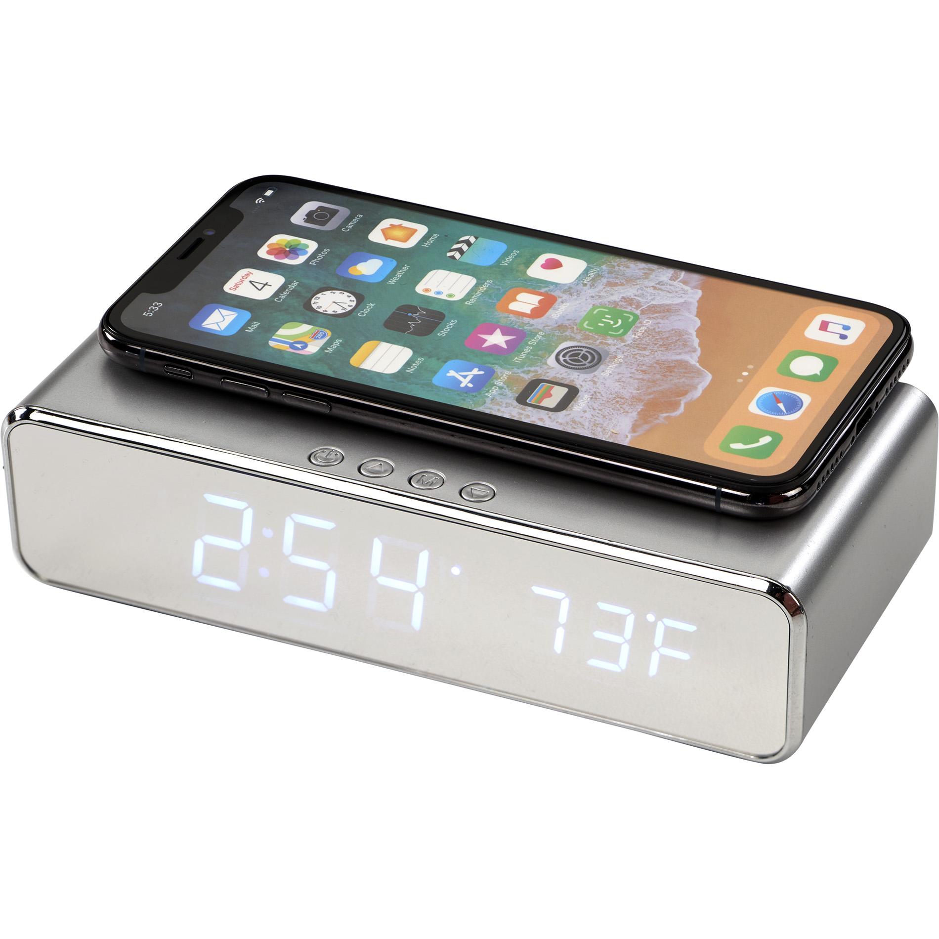 Keen Wireless Charging Desk Clock