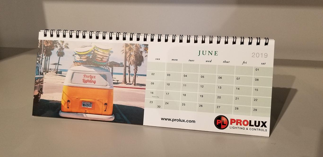 prolux calendar